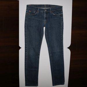7 For All Mankind Roxanne Denim Blue Jeans w30x28